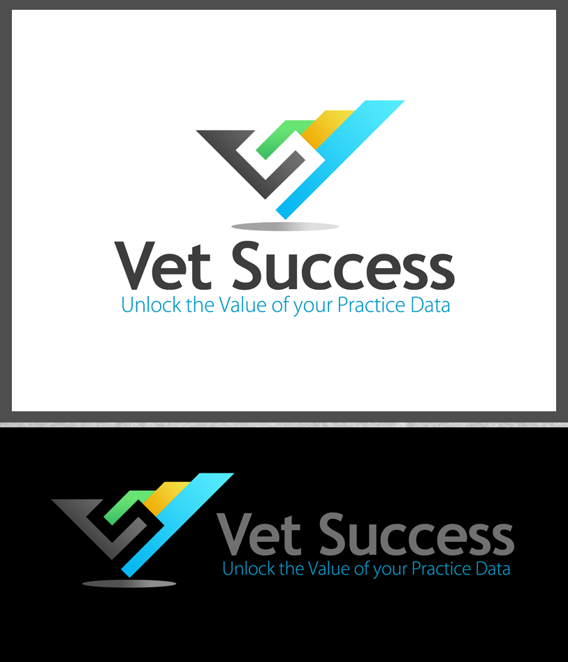 Logo Design by Private User - Entry No. 156 in the Logo Design Contest Imaginative Logo Design for Vet Success Inc..