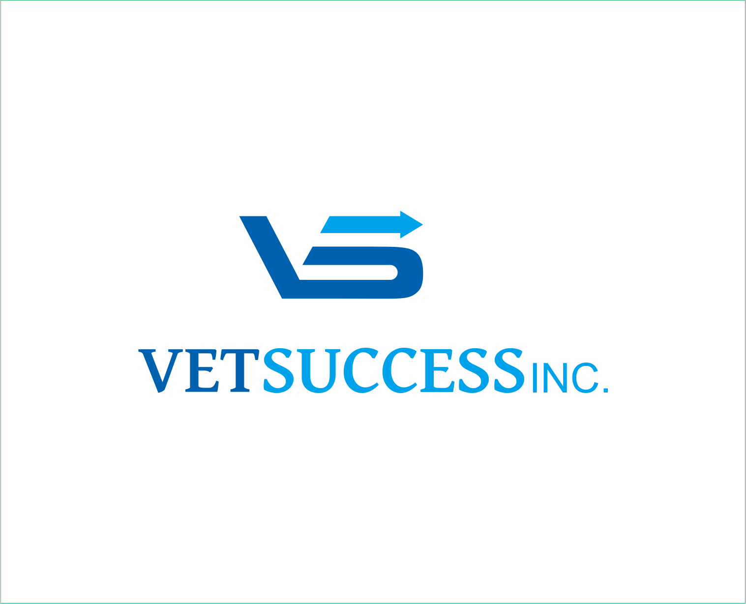 Logo Design by Armada Jamaluddin - Entry No. 158 in the Logo Design Contest Imaginative Logo Design for Vet Success Inc..