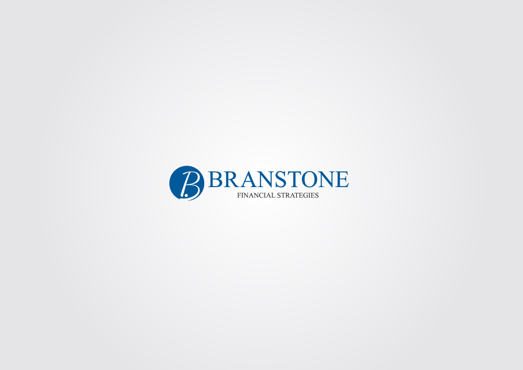 Logo Design by Osi Indra - Entry No. 53 in the Logo Design Contest Inspiring Logo Design for Branstone Financial Strategies.