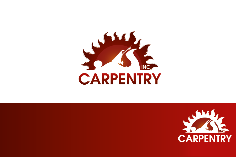 Logo Design by Private User - Entry No. 10 in the Logo Design Contest Creative Logo Design for Carpentry inc..