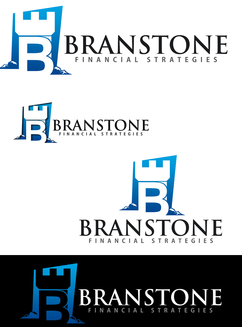 Logo Design by Private User - Entry No. 58 in the Logo Design Contest Inspiring Logo Design for Branstone Financial Strategies.