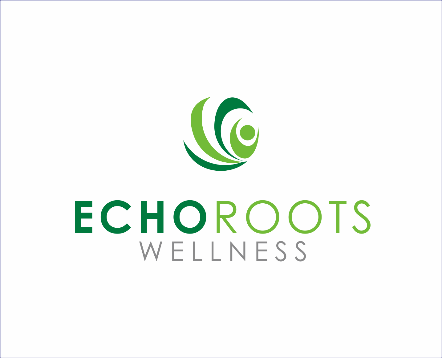 Logo Design by Armada Jamaluddin - Entry No. 91 in the Logo Design Contest Funky Logo Design for Echo Roots Wellness.
