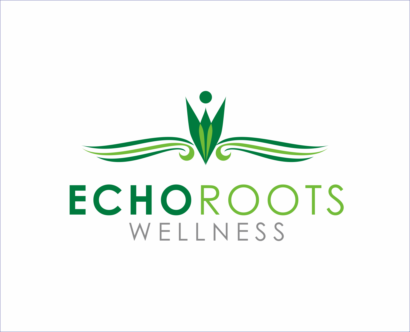 Logo Design by Armada Jamaluddin - Entry No. 92 in the Logo Design Contest Funky Logo Design for Echo Roots Wellness.
