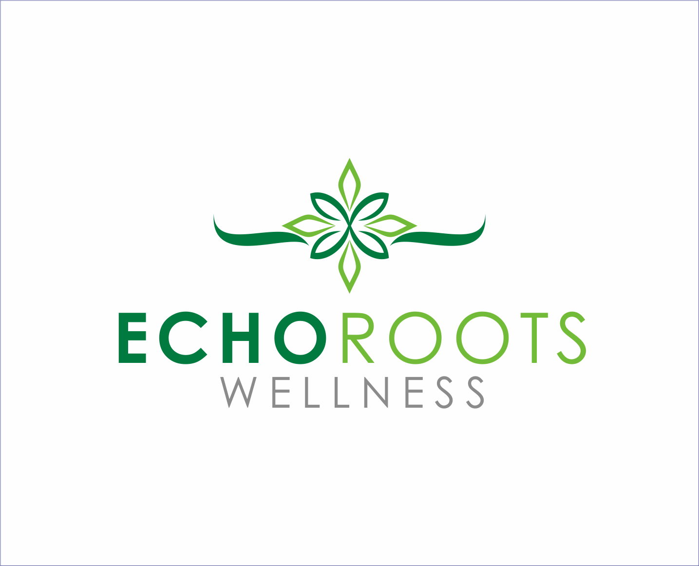 Logo Design by Armada Jamaluddin - Entry No. 93 in the Logo Design Contest Funky Logo Design for Echo Roots Wellness.