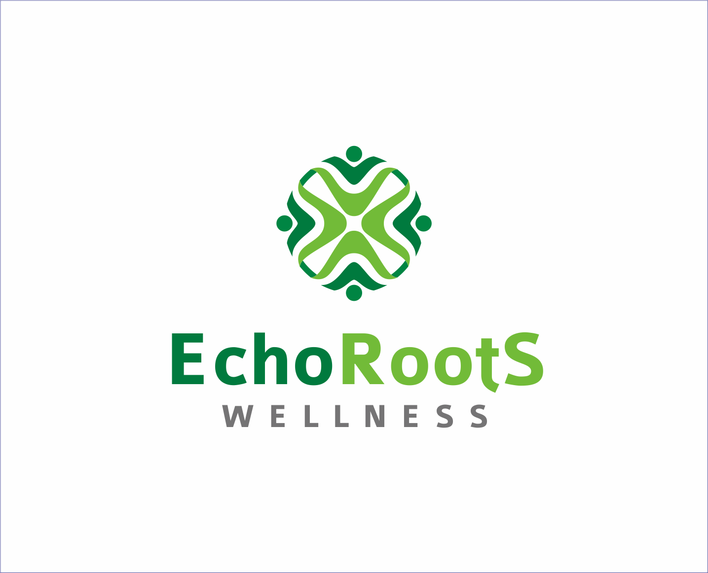 Logo Design by Armada Jamaluddin - Entry No. 94 in the Logo Design Contest Funky Logo Design for Echo Roots Wellness.