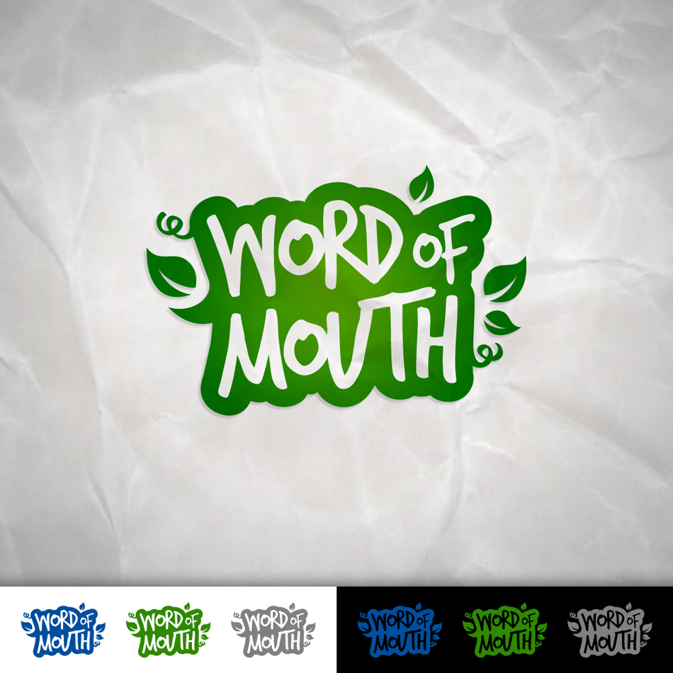 Logo Design by Tanti - Entry No. 68 in the Logo Design Contest Word Of Mouth.