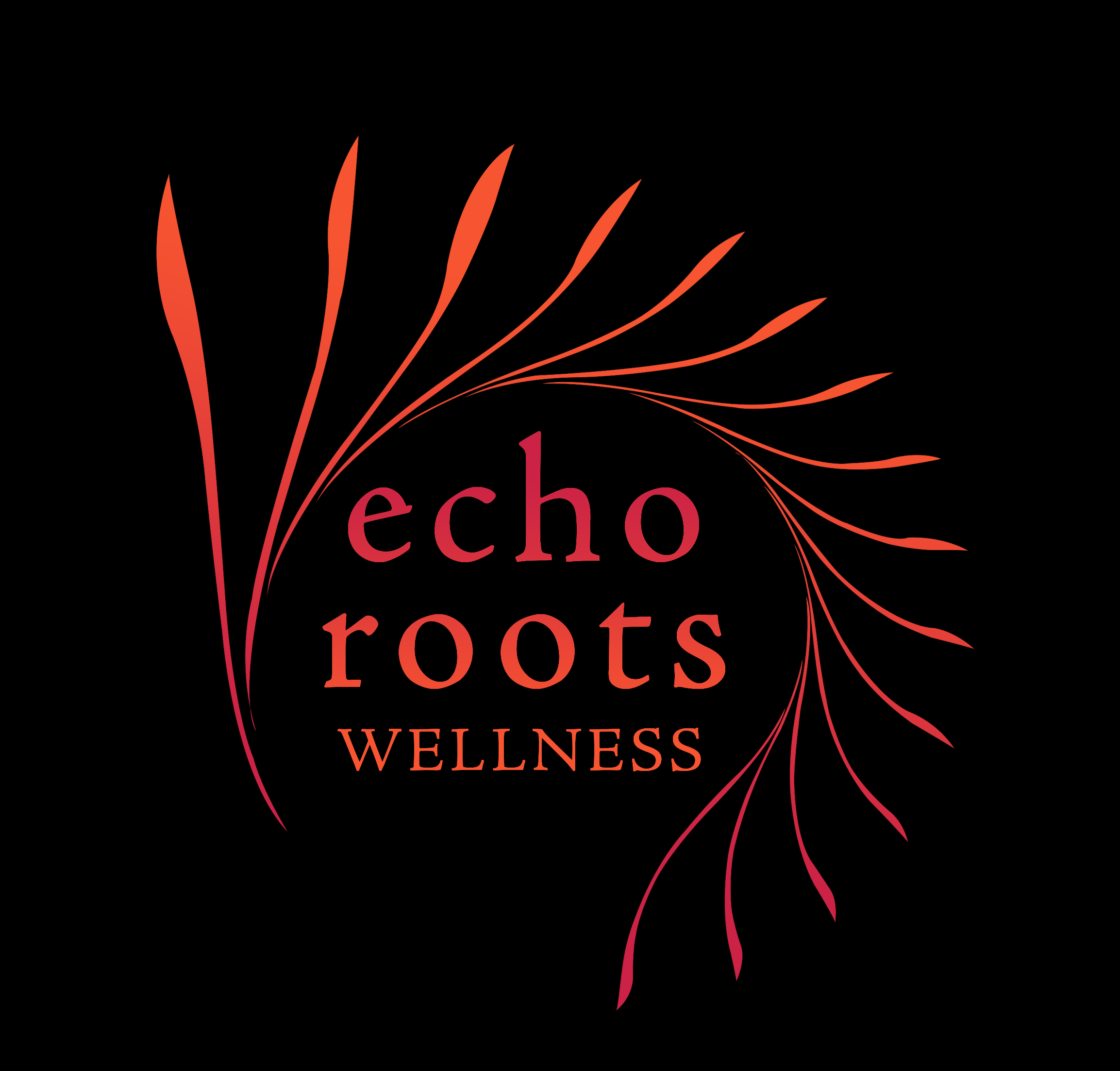 Logo Design by subins47 - Entry No. 96 in the Logo Design Contest Funky Logo Design for Echo Roots Wellness.