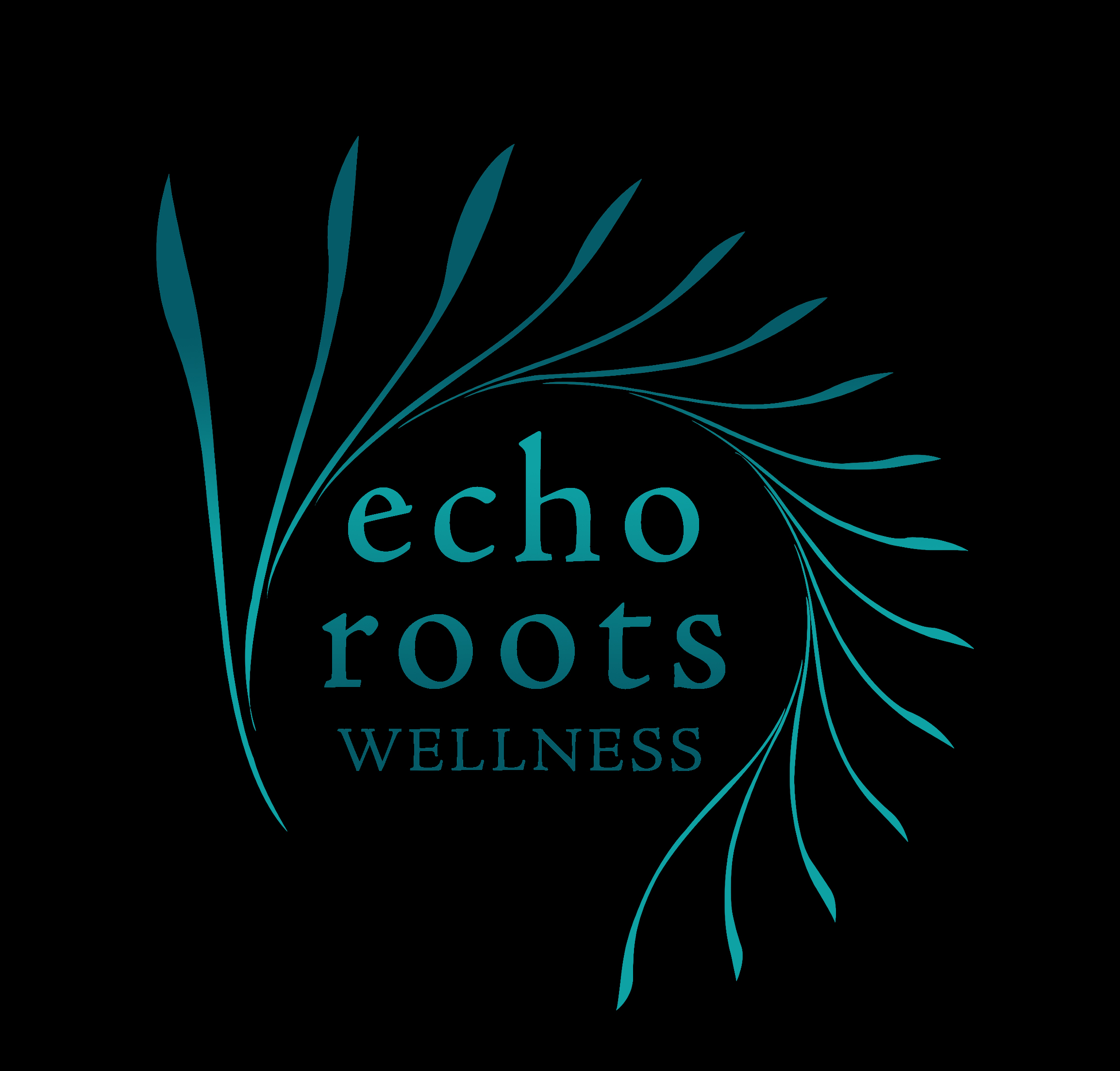 Logo Design by subins47 - Entry No. 97 in the Logo Design Contest Funky Logo Design for Echo Roots Wellness.
