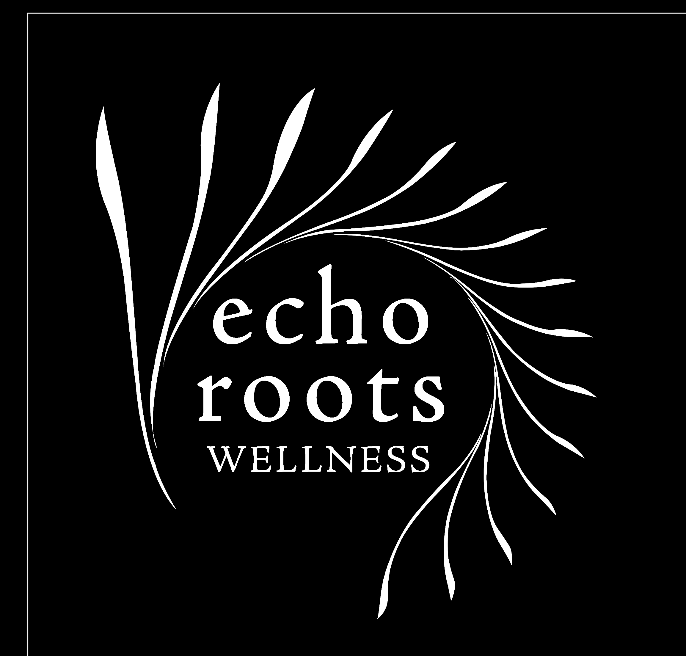 Logo Design by subins47 - Entry No. 98 in the Logo Design Contest Funky Logo Design for Echo Roots Wellness.