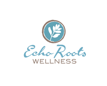 Logo Design by Private User - Entry No. 99 in the Logo Design Contest Funky Logo Design for Echo Roots Wellness.