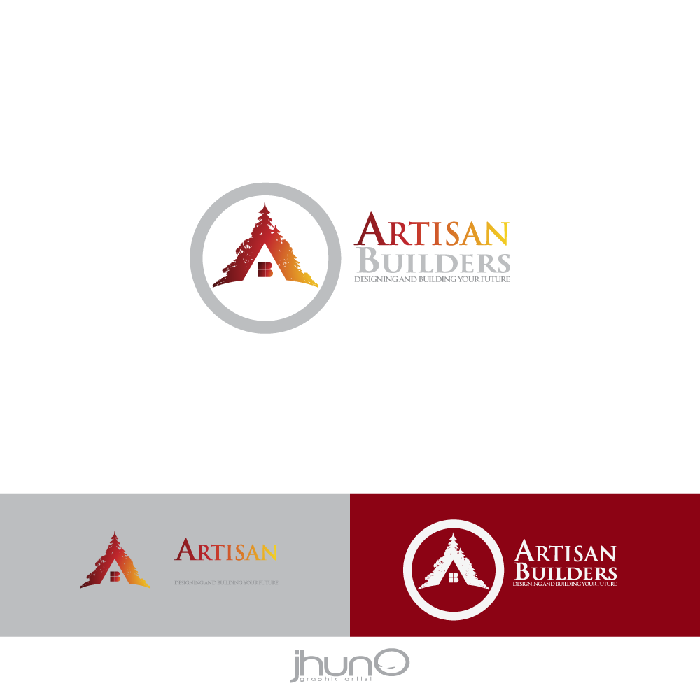 Logo Design by zesthar - Entry No. 75 in the Logo Design Contest Captivating Logo Design for Artisan Builders.