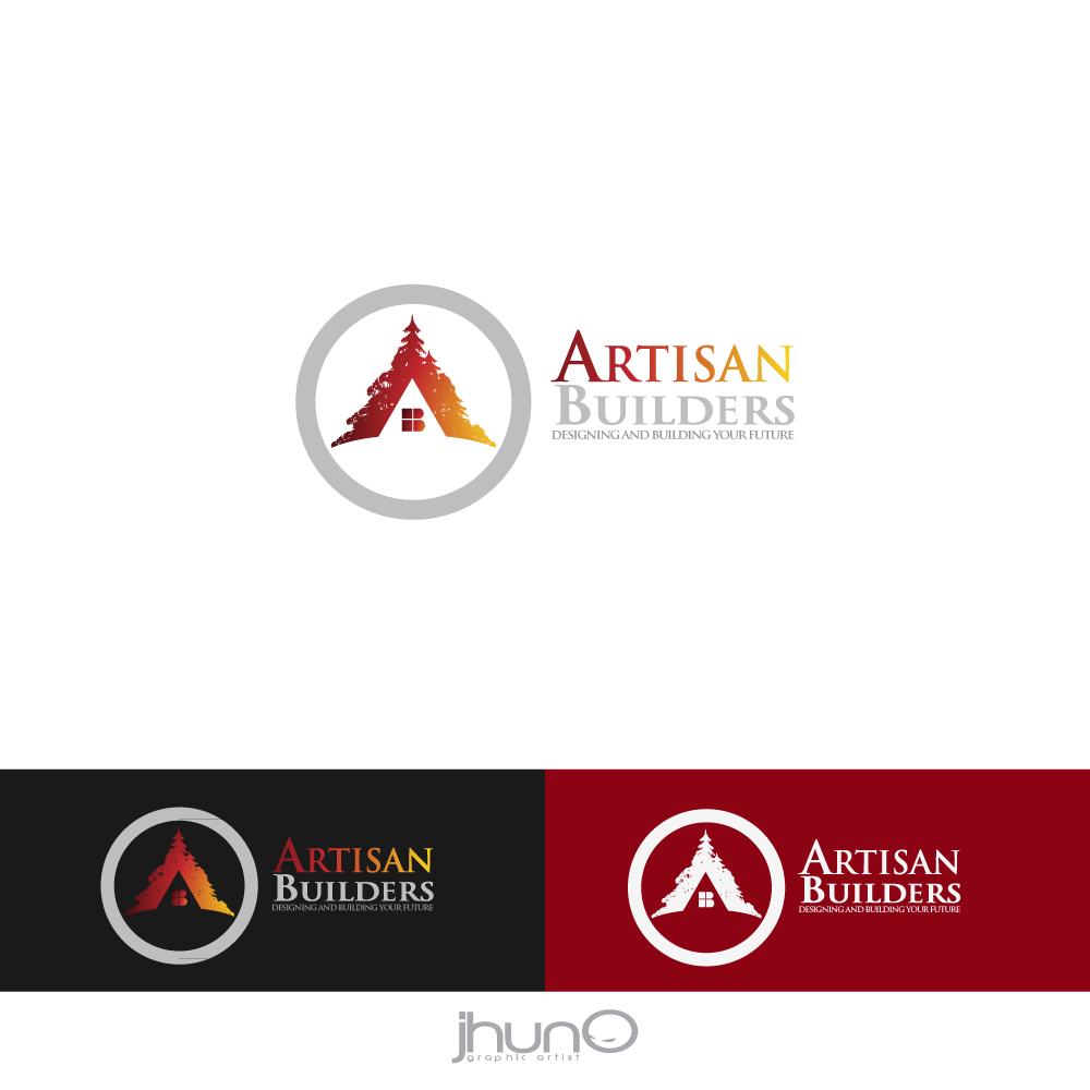 Logo Design by zesthar - Entry No. 77 in the Logo Design Contest Captivating Logo Design for Artisan Builders.
