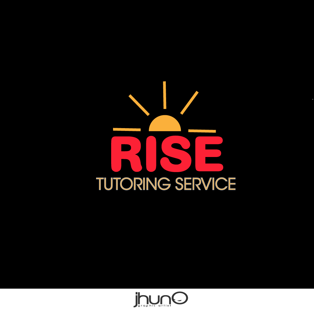 Logo Design by zesthar - Entry No. 2 in the Logo Design Contest Imaginative Logo Design for Rise Tutoring Service.