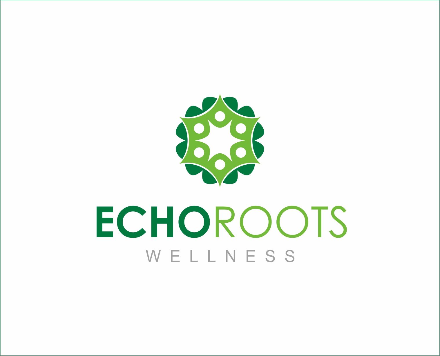 Logo Design by Armada Jamaluddin - Entry No. 110 in the Logo Design Contest Funky Logo Design for Echo Roots Wellness.