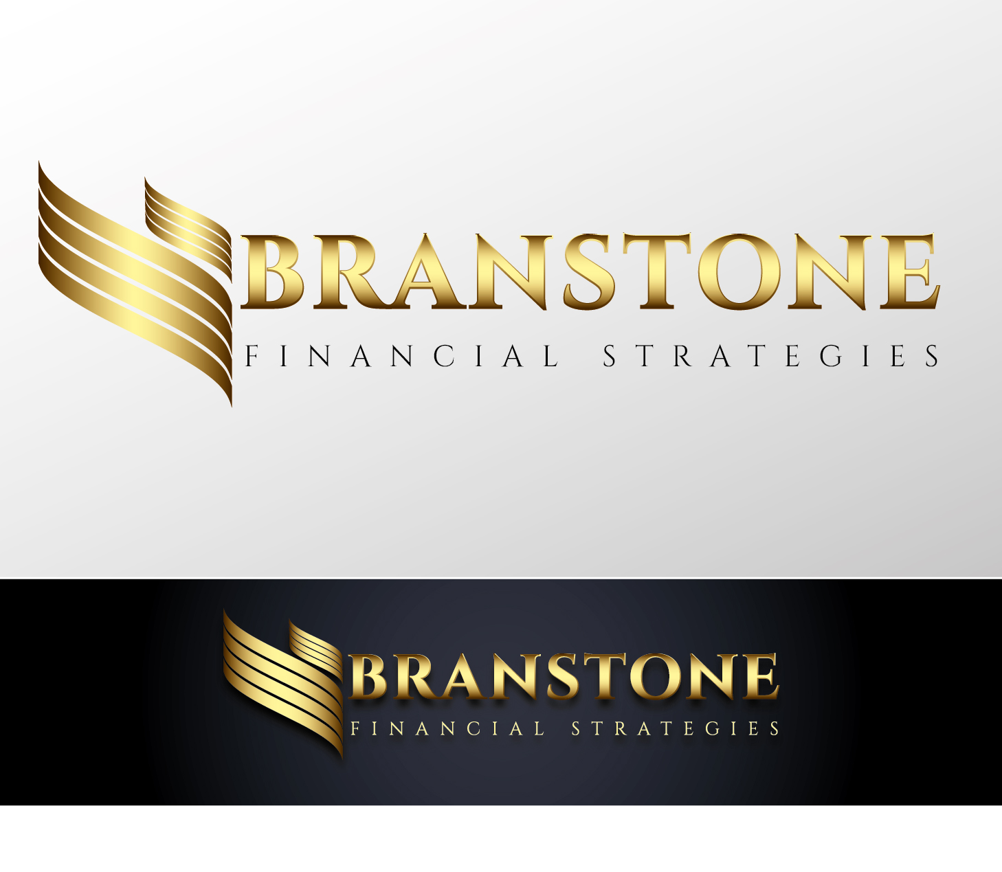 Logo Design by VENTSISLAV KOVACHEV - Entry No. 72 in the Logo Design Contest Inspiring Logo Design for Branstone Financial Strategies.