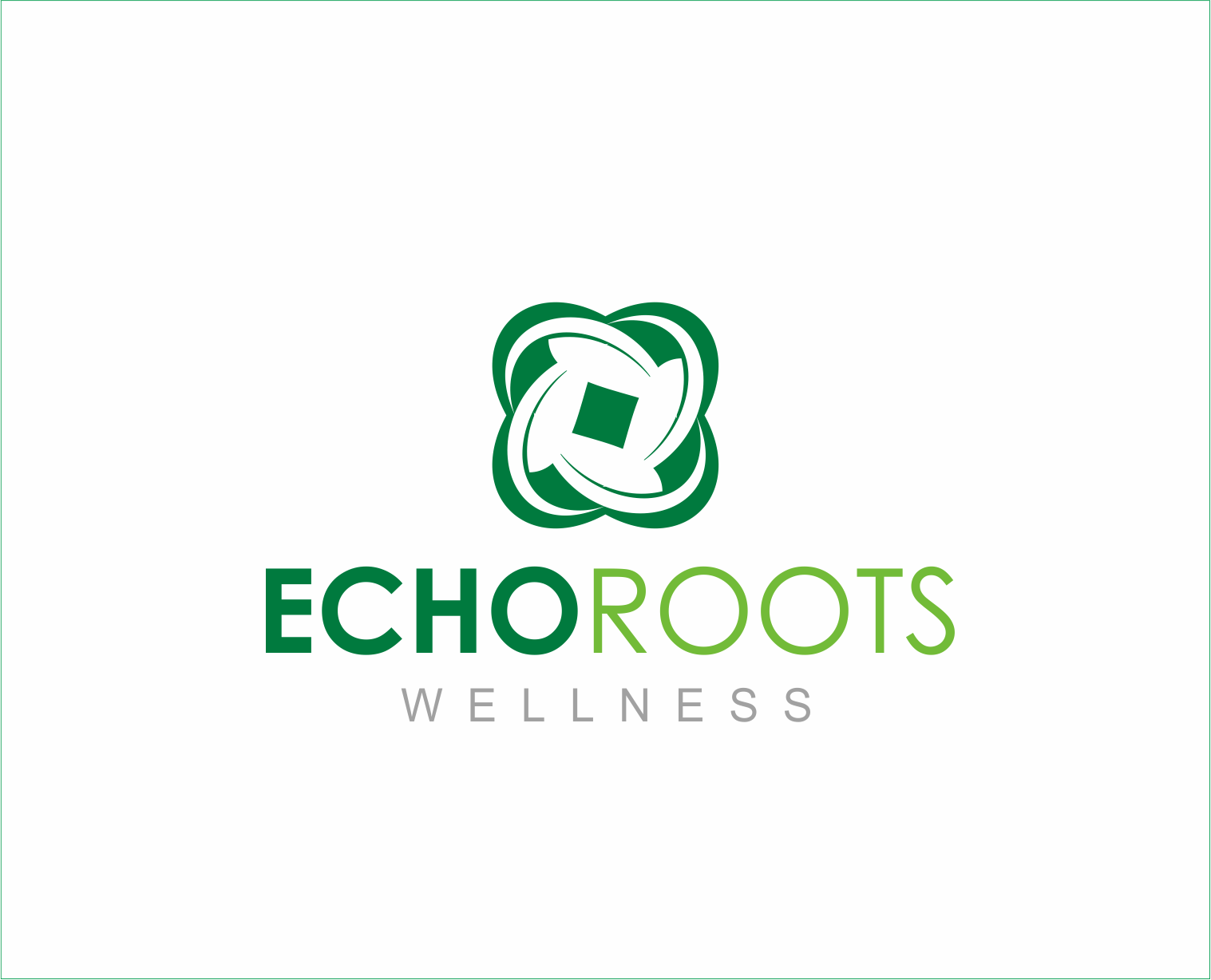 Logo Design by Armada Jamaluddin - Entry No. 112 in the Logo Design Contest Funky Logo Design for Echo Roots Wellness.