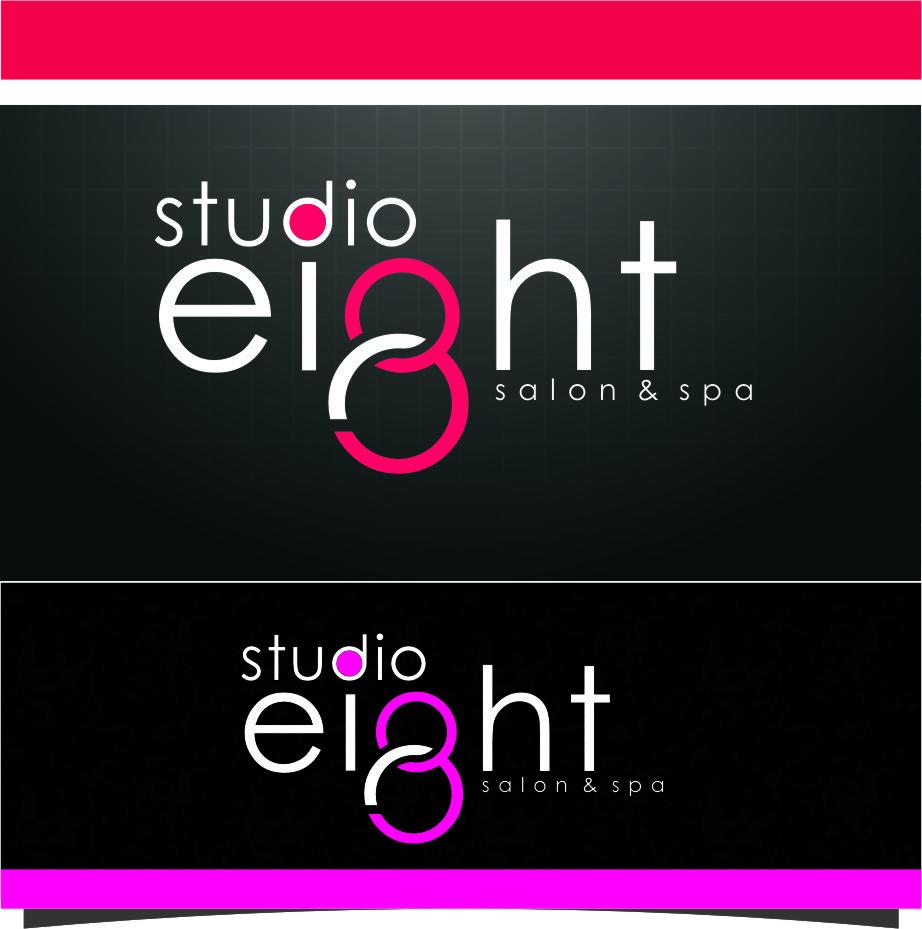 Logo Design by Ngepet_art - Entry No. 162 in the Logo Design Contest Captivating Logo Design for studio eight salon & spa.