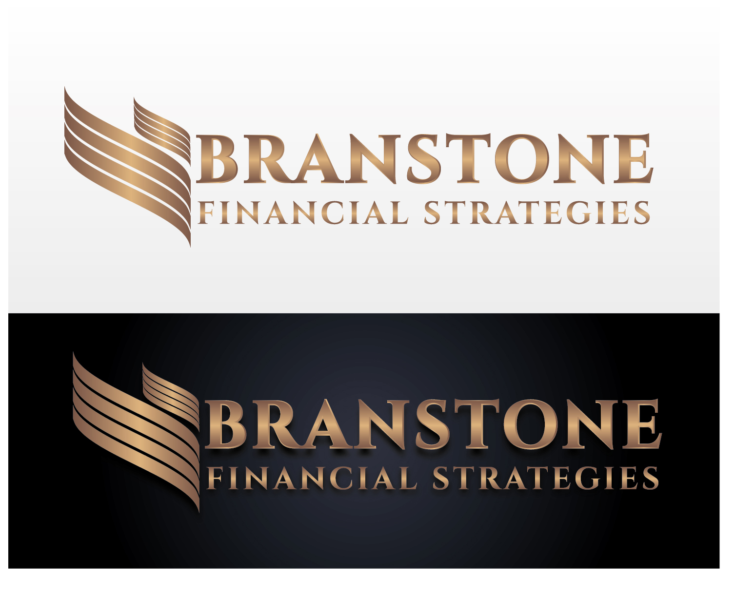 Logo Design by VENTSISLAV KOVACHEV - Entry No. 80 in the Logo Design Contest Inspiring Logo Design for Branstone Financial Strategies.