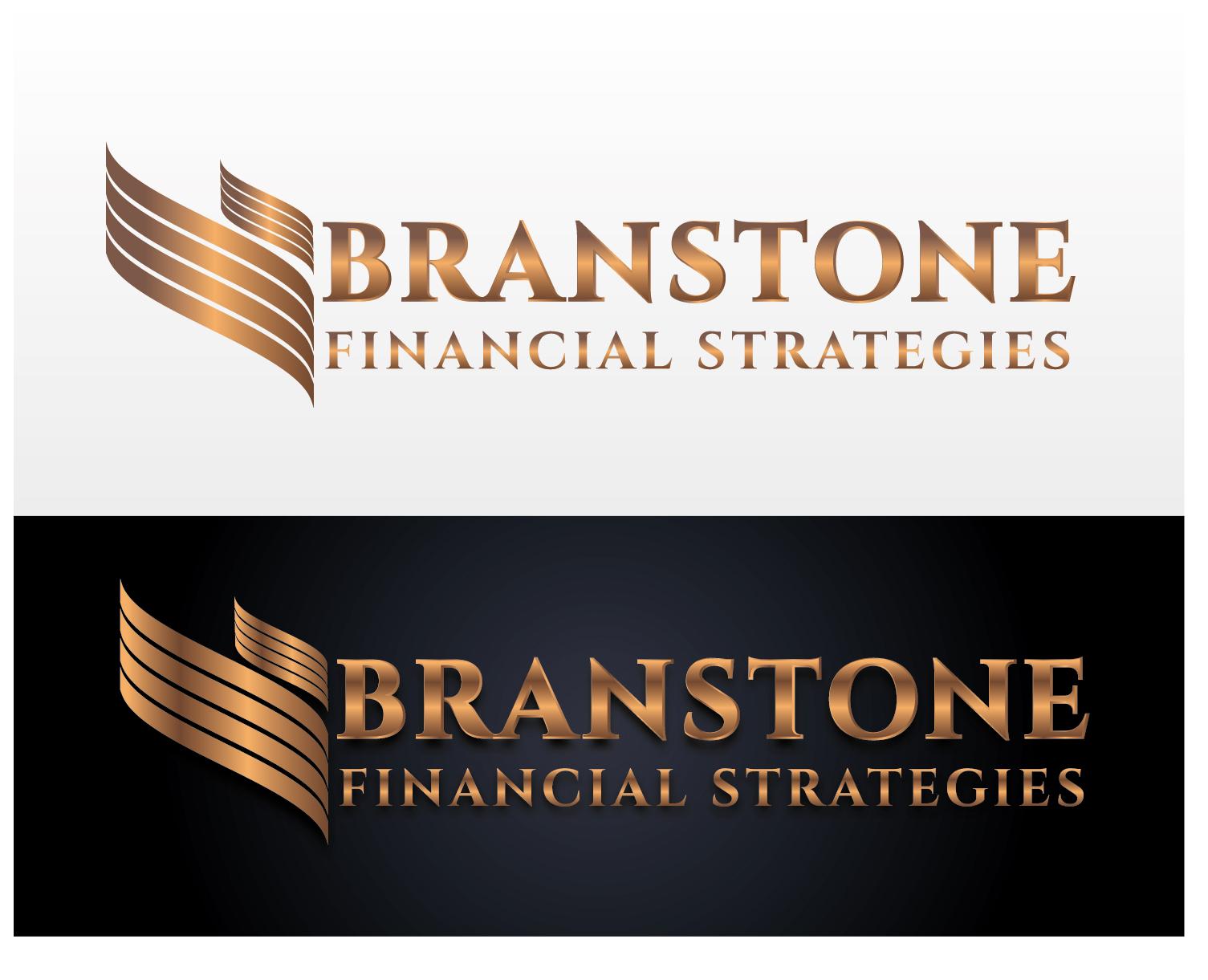 Logo Design by VENTSISLAV KOVACHEV - Entry No. 81 in the Logo Design Contest Inspiring Logo Design for Branstone Financial Strategies.