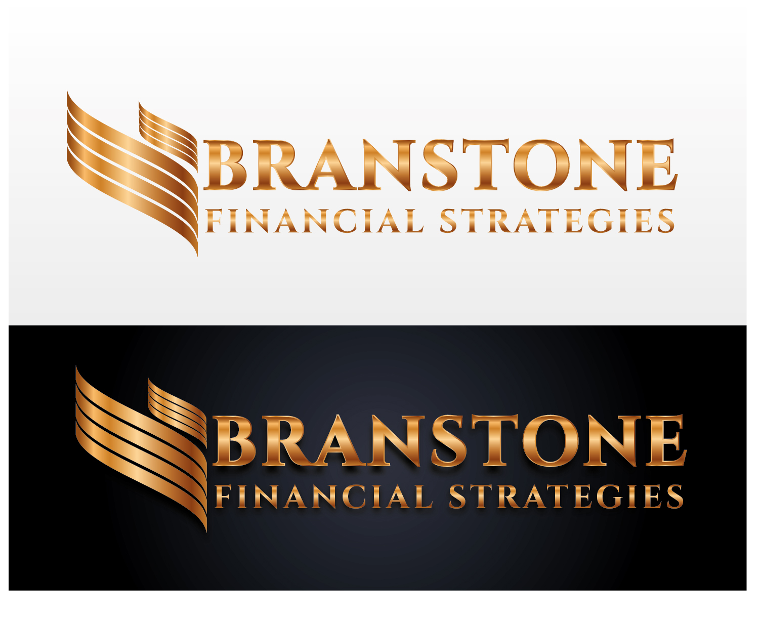 Logo Design by VENTSISLAV KOVACHEV - Entry No. 82 in the Logo Design Contest Inspiring Logo Design for Branstone Financial Strategies.