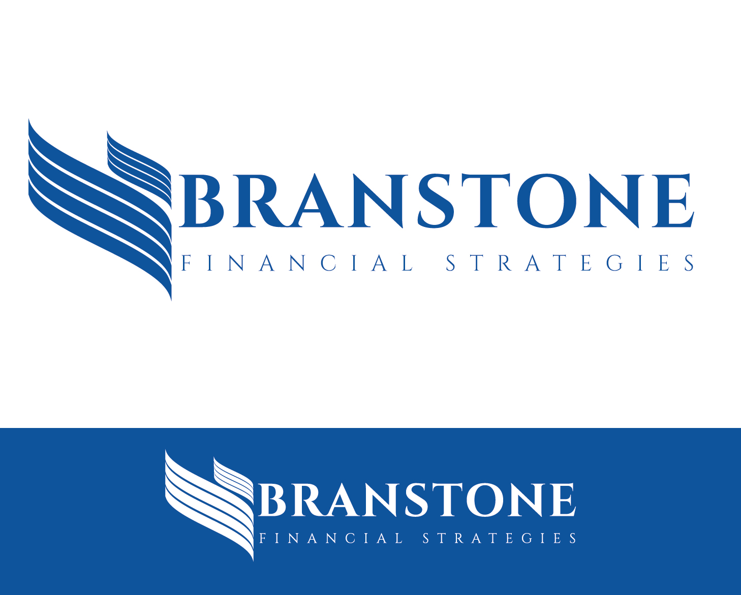 Logo Design by VENTSISLAV KOVACHEV - Entry No. 83 in the Logo Design Contest Inspiring Logo Design for Branstone Financial Strategies.