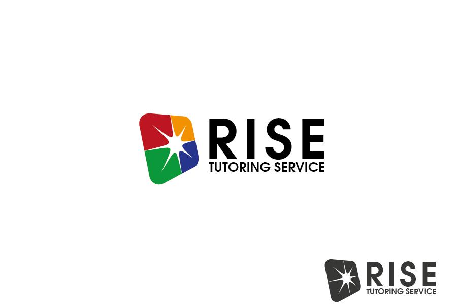 Logo Design by Private User - Entry No. 4 in the Logo Design Contest Imaginative Logo Design for Rise Tutoring Service.