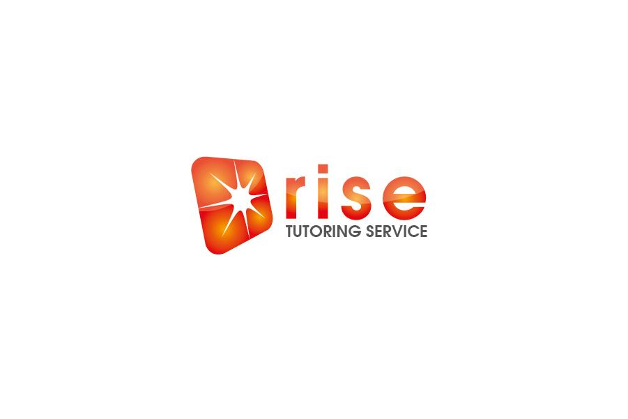 Logo Design by Private User - Entry No. 6 in the Logo Design Contest Imaginative Logo Design for Rise Tutoring Service.