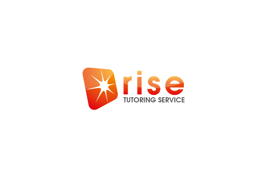 Logo Design by Private User - Entry No. 7 in the Logo Design Contest Imaginative Logo Design for Rise Tutoring Service.