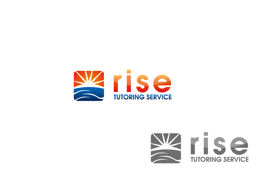 Logo Design by Private User - Entry No. 8 in the Logo Design Contest Imaginative Logo Design for Rise Tutoring Service.
