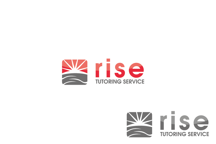 Logo Design by Private User - Entry No. 10 in the Logo Design Contest Imaginative Logo Design for Rise Tutoring Service.