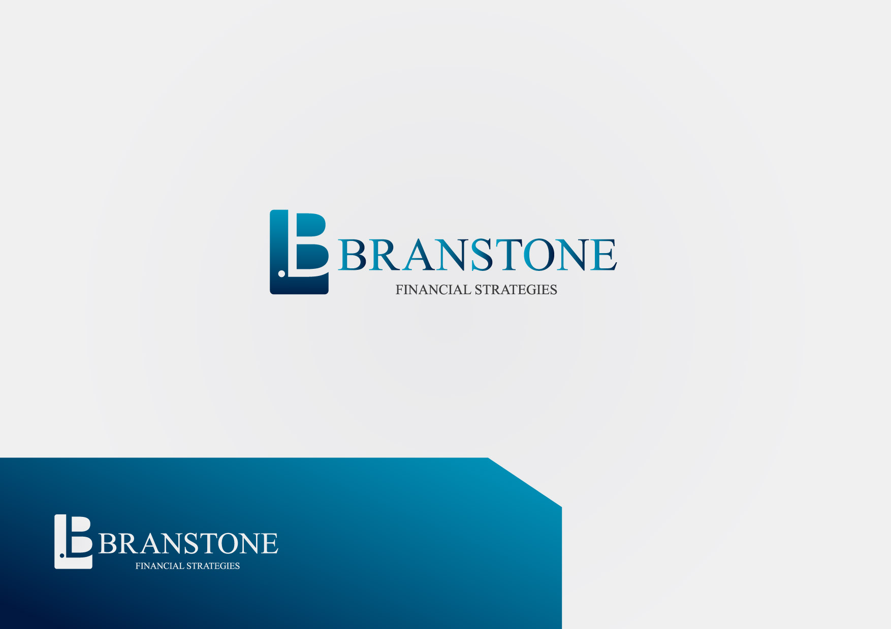 Logo Design by Osi Indra - Entry No. 92 in the Logo Design Contest Inspiring Logo Design for Branstone Financial Strategies.