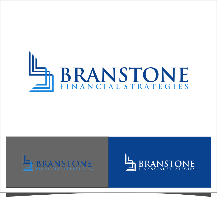 Logo Design by RasYa Muhammad Athaya - Entry No. 96 in the Logo Design Contest Inspiring Logo Design for Branstone Financial Strategies.