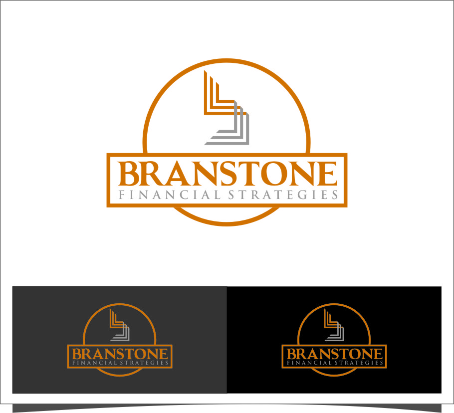 Logo Design by RasYa Muhammad Athaya - Entry No. 97 in the Logo Design Contest Inspiring Logo Design for Branstone Financial Strategies.