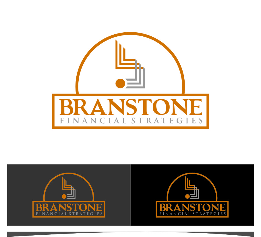 Logo Design by Ngepet_art - Entry No. 98 in the Logo Design Contest Inspiring Logo Design for Branstone Financial Strategies.