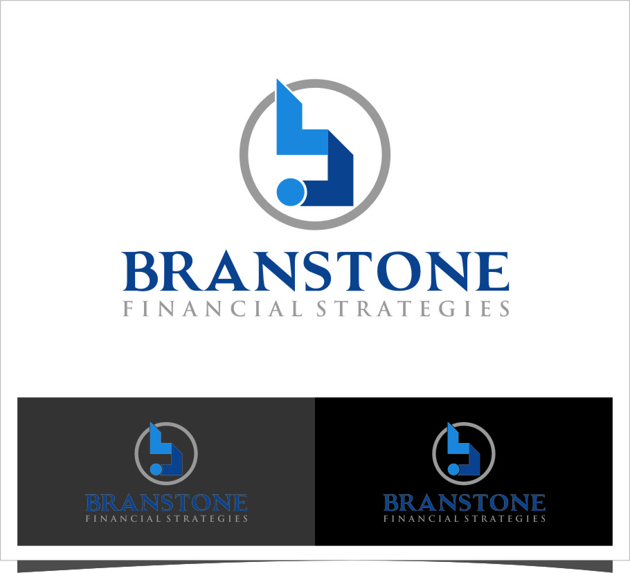 Logo Design by Ngepet_art - Entry No. 99 in the Logo Design Contest Inspiring Logo Design for Branstone Financial Strategies.