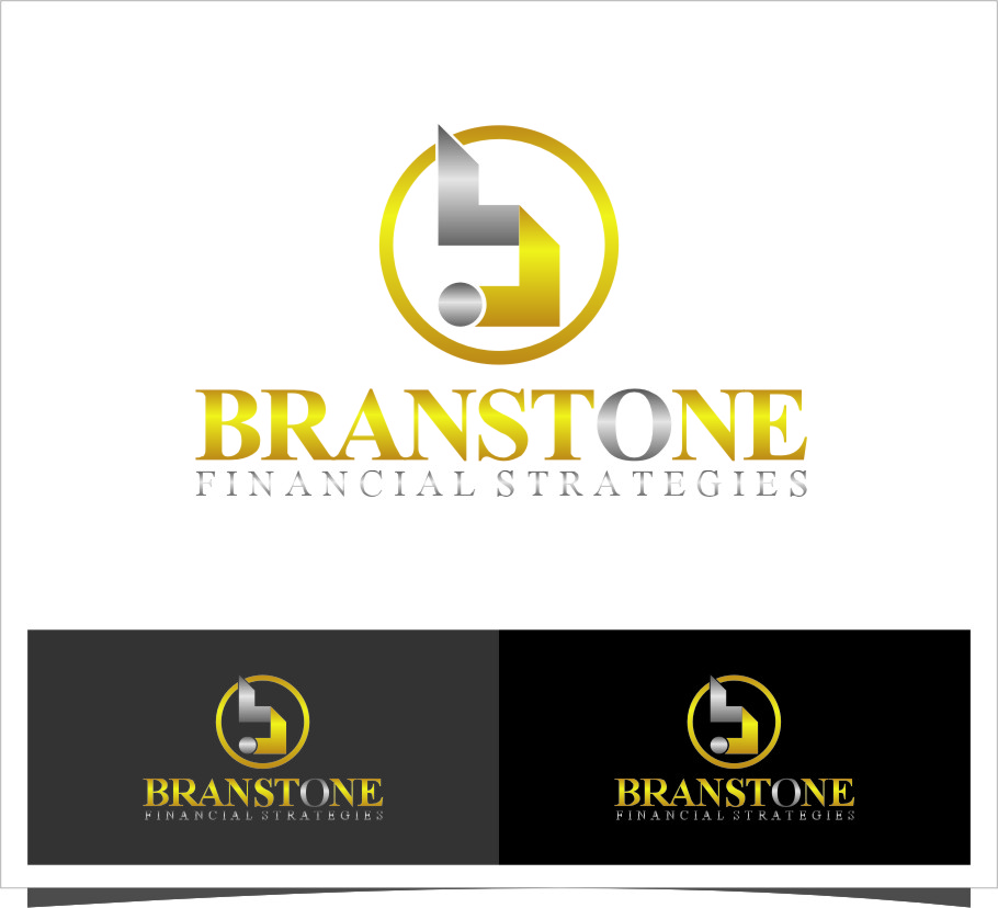 Logo Design by RasYa Muhammad Athaya - Entry No. 100 in the Logo Design Contest Inspiring Logo Design for Branstone Financial Strategies.