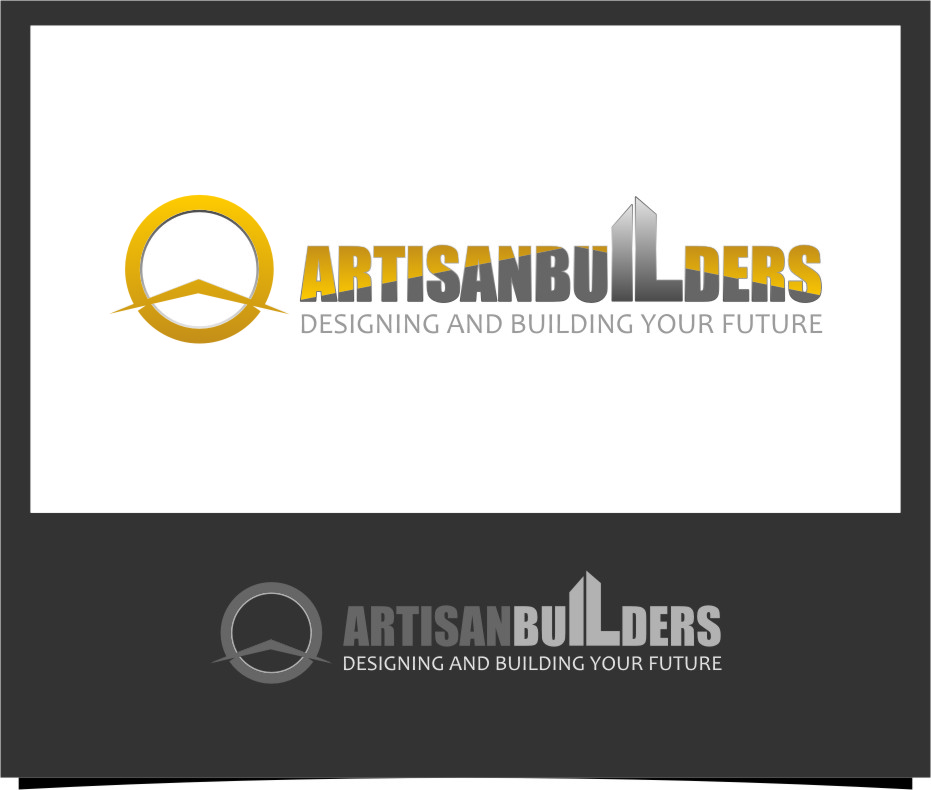 Logo Design by RoSyid Rono-Rene On Java - Entry No. 92 in the Logo Design Contest Captivating Logo Design for Artisan Builders.