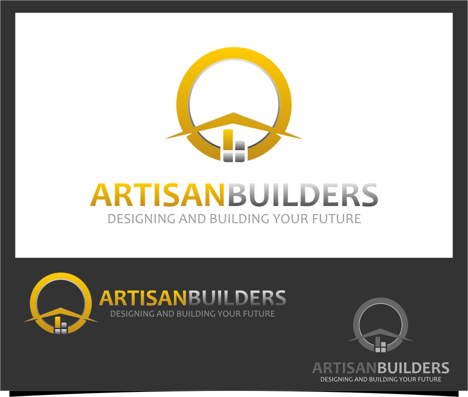 Logo Design by RasYa Muhammad Athaya - Entry No. 95 in the Logo Design Contest Captivating Logo Design for Artisan Builders.