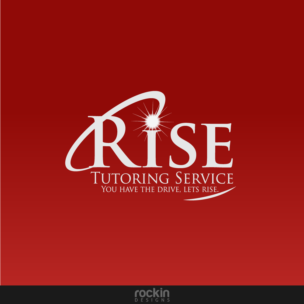 Logo Design by rockin - Entry No. 18 in the Logo Design Contest Imaginative Logo Design for Rise Tutoring Service.