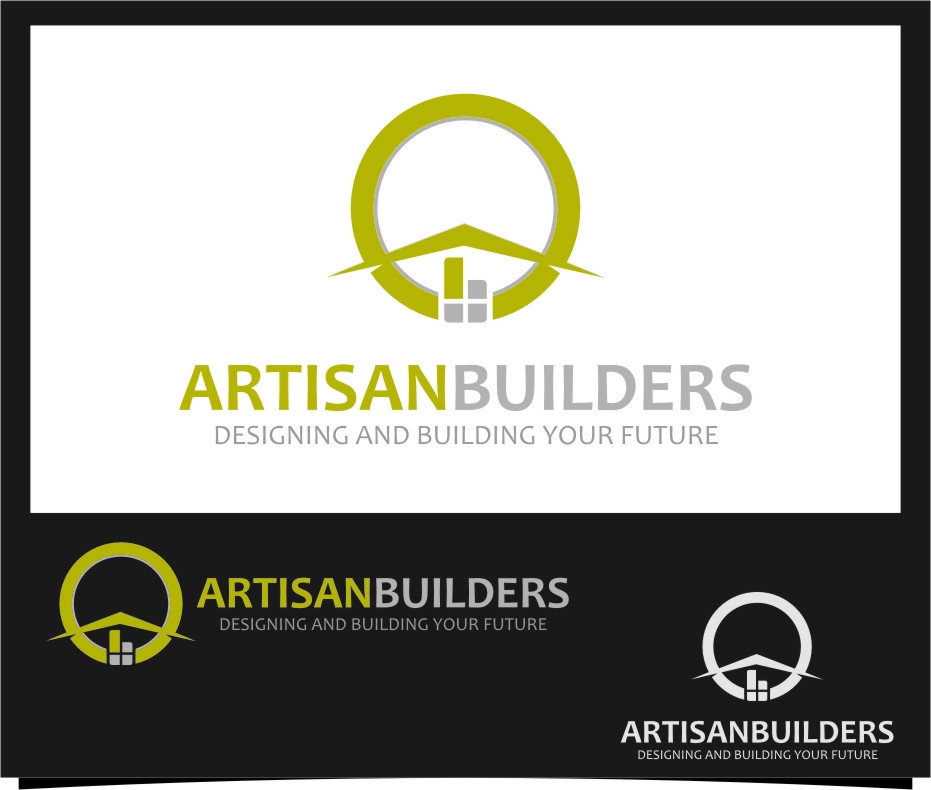 Logo Design by Ngepet_art - Entry No. 97 in the Logo Design Contest Captivating Logo Design for Artisan Builders.