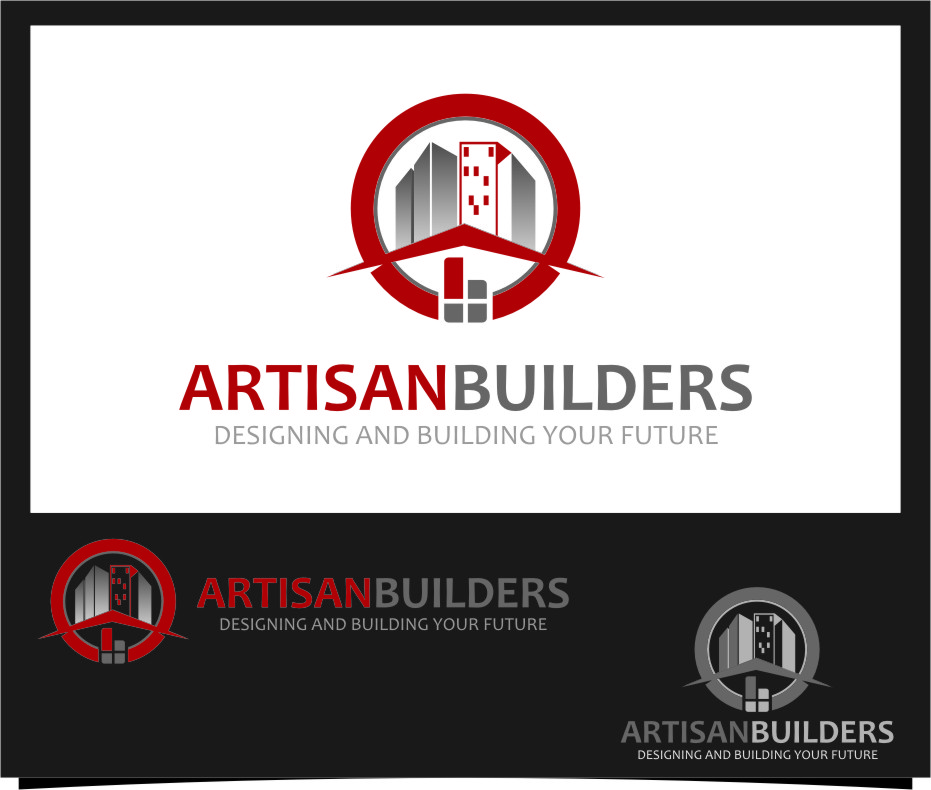 Logo Design by Ngepet_art - Entry No. 100 in the Logo Design Contest Captivating Logo Design for Artisan Builders.
