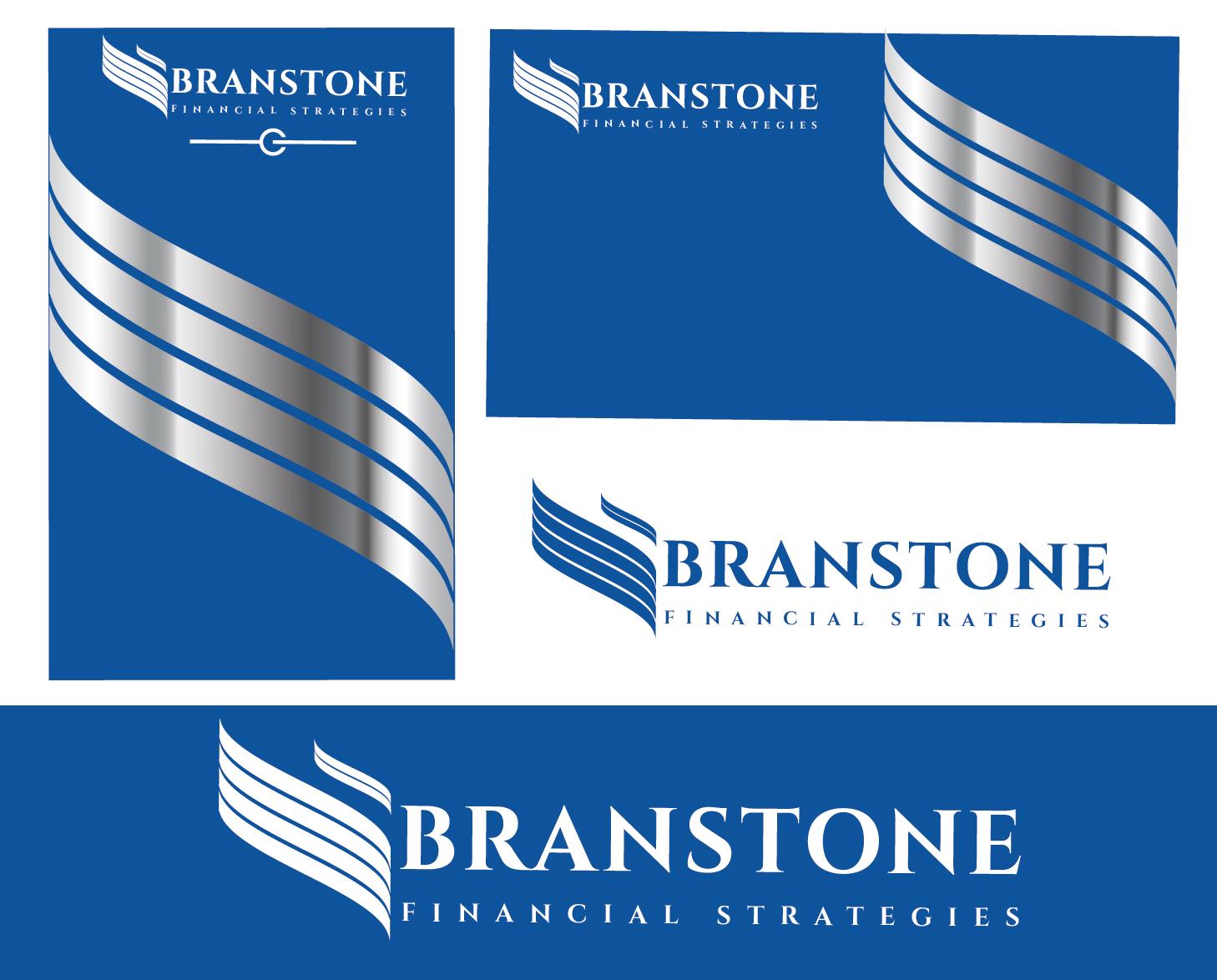 Logo Design by VENTSISLAV KOVACHEV - Entry No. 105 in the Logo Design Contest Inspiring Logo Design for Branstone Financial Strategies.