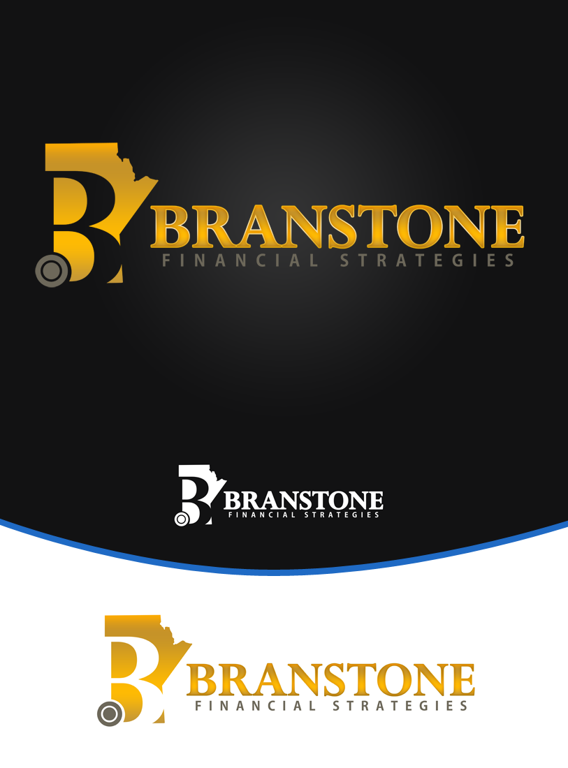 Logo Design by Private User - Entry No. 106 in the Logo Design Contest Inspiring Logo Design for Branstone Financial Strategies.