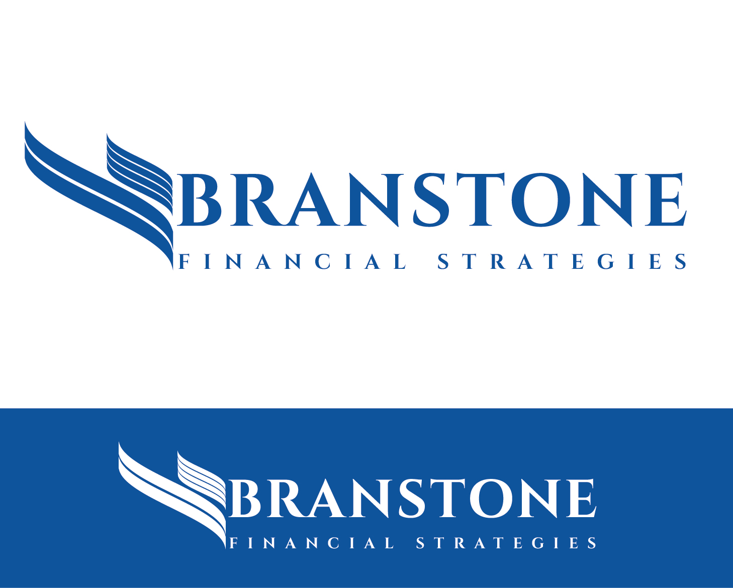 Logo Design by VENTSISLAV KOVACHEV - Entry No. 107 in the Logo Design Contest Inspiring Logo Design for Branstone Financial Strategies.