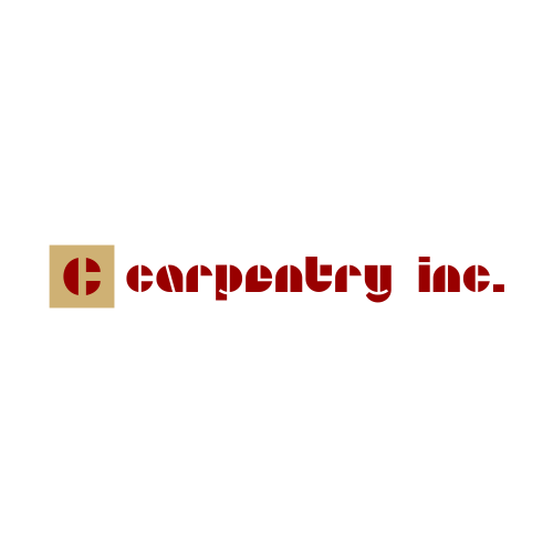 Logo Design by Rudy - Entry No. 15 in the Logo Design Contest Creative Logo Design for Carpentry inc..