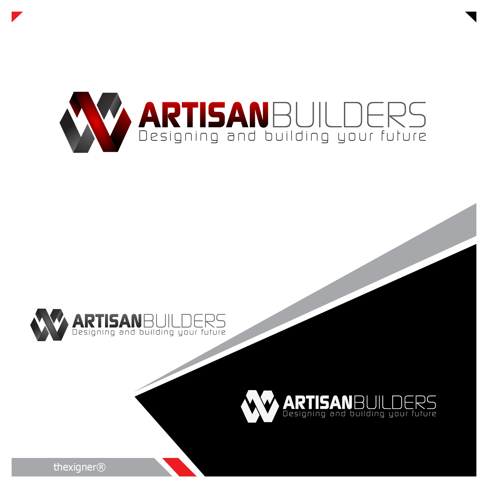 Logo Design by lagalag - Entry No. 105 in the Logo Design Contest Captivating Logo Design for Artisan Builders.