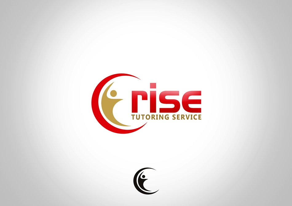 Logo Design by Respati Himawan - Entry No. 25 in the Logo Design Contest Imaginative Logo Design for Rise Tutoring Service.
