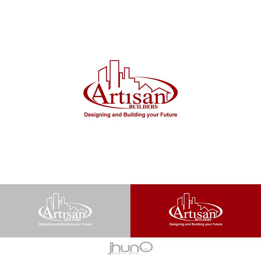 Logo Design by zesthar - Entry No. 114 in the Logo Design Contest Captivating Logo Design for Artisan Builders.