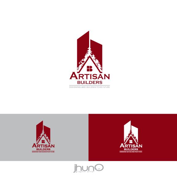 Logo Design by zesthar - Entry No. 115 in the Logo Design Contest Captivating Logo Design for Artisan Builders.