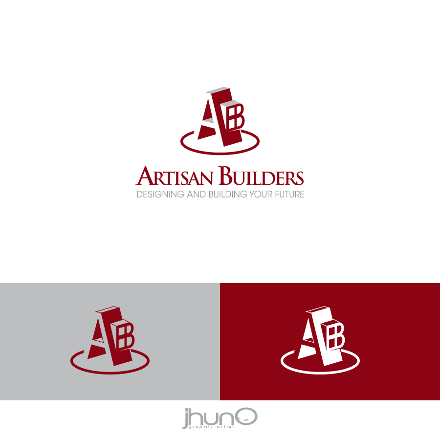 Logo Design by zesthar - Entry No. 120 in the Logo Design Contest Captivating Logo Design for Artisan Builders.